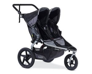 black BOB 2016 Revolution FLEX Duallie Jogging carriage