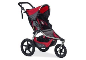 red BOB Revolution FLEX Jogging Stroller