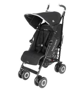 black Techno pushchair