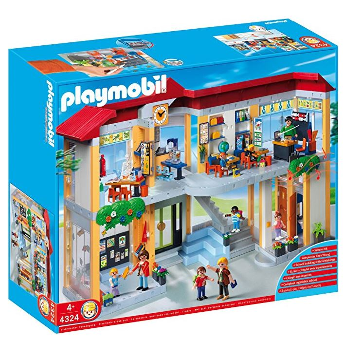 Playmobil School Set 4324 Box