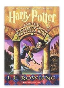 Harry Potter and the Sorcerer's Stone papeback cover