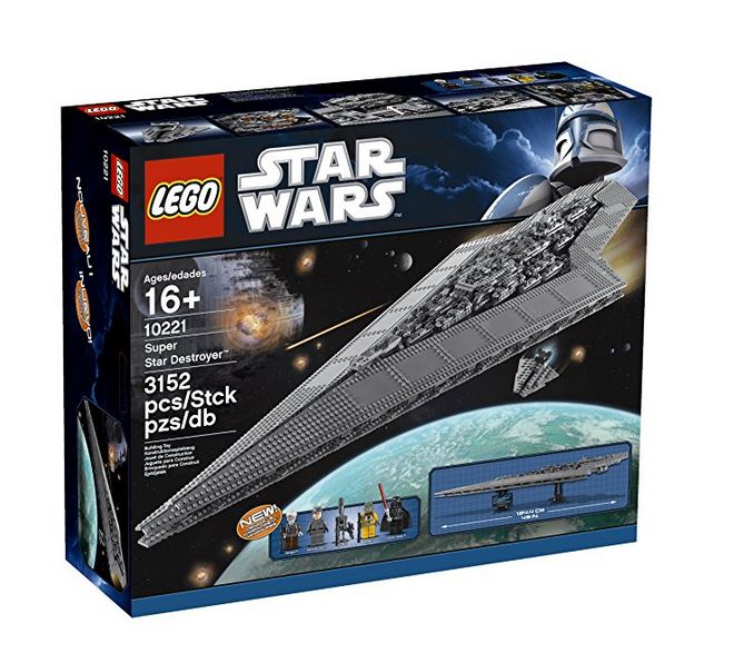 Lego 10221 Retail Box